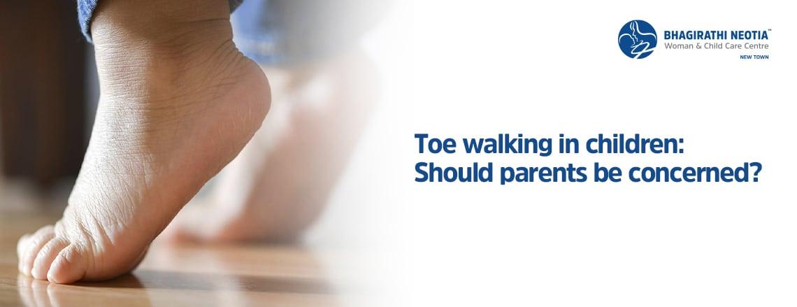 Toe walking in children: Should parents be concerned?